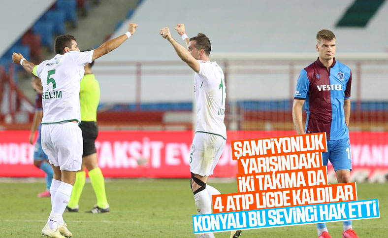 Trabzonspor, Konyaspor'a yenildi