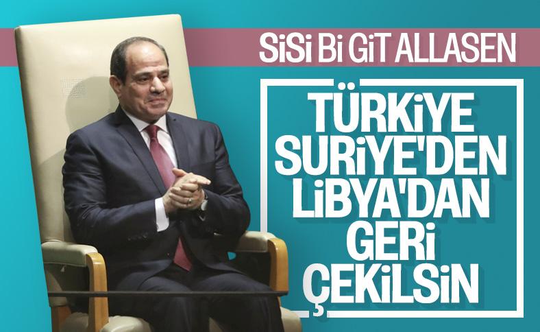 Mısır'dan Türkiye hakkında küstah açıklama