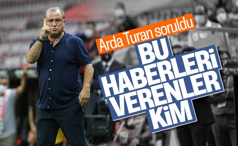 Fatih Terim, Arda Turan haberlerine tepki gösterdi
