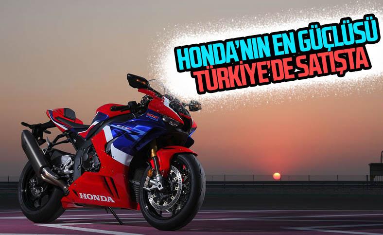 Honda, en güçlü motosiklet modelini ülkemize getirdi