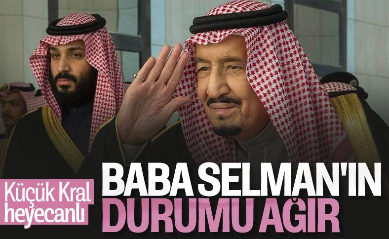 Kral Selman'ın durumu ağır