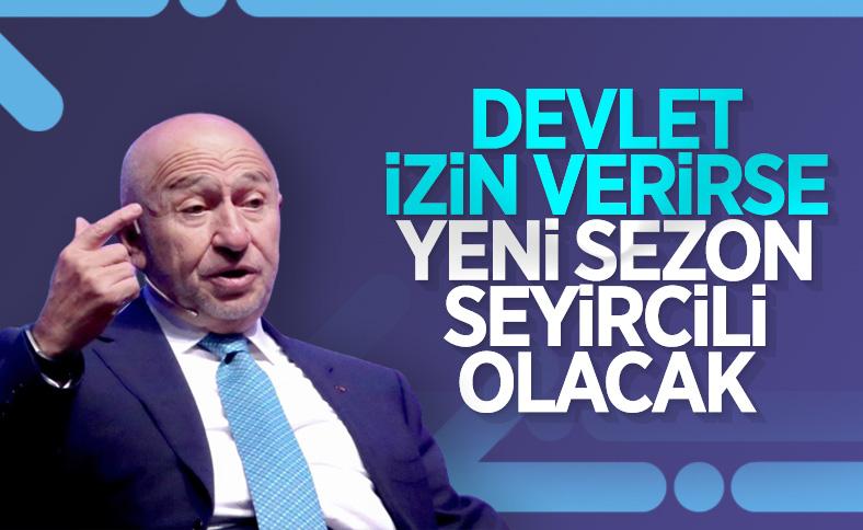 Nihat Özdemir'den 'seyirci' müjdesi