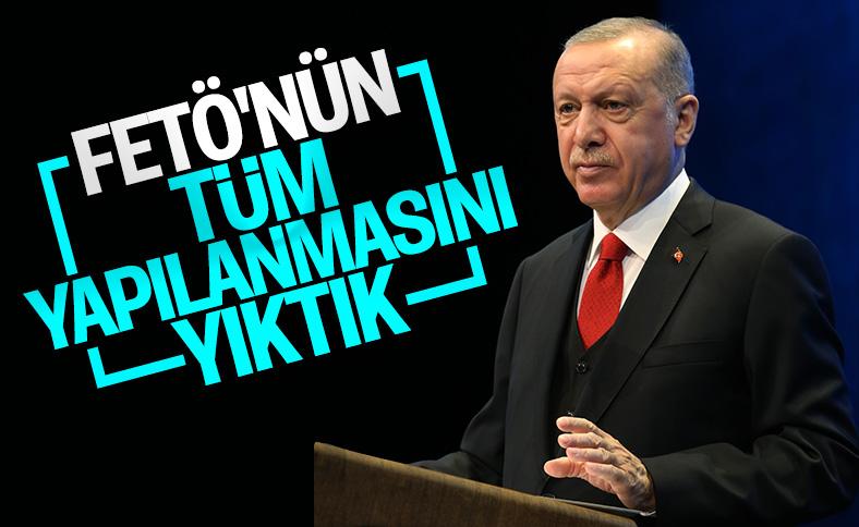 Erdoğan: FETÖ'nün bürokrasi yapılanmasını yıktık