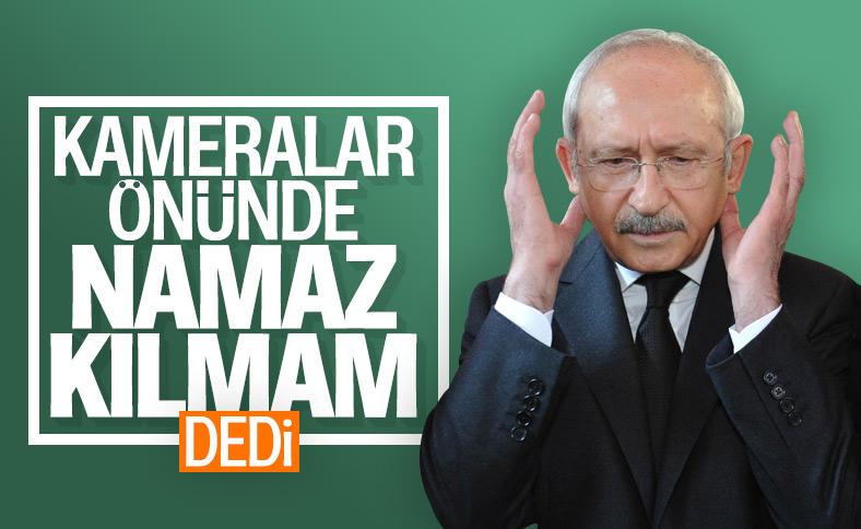 Kılıçdaroğlu'nun Ayasofya'da ilk namaza katılmama nedeni