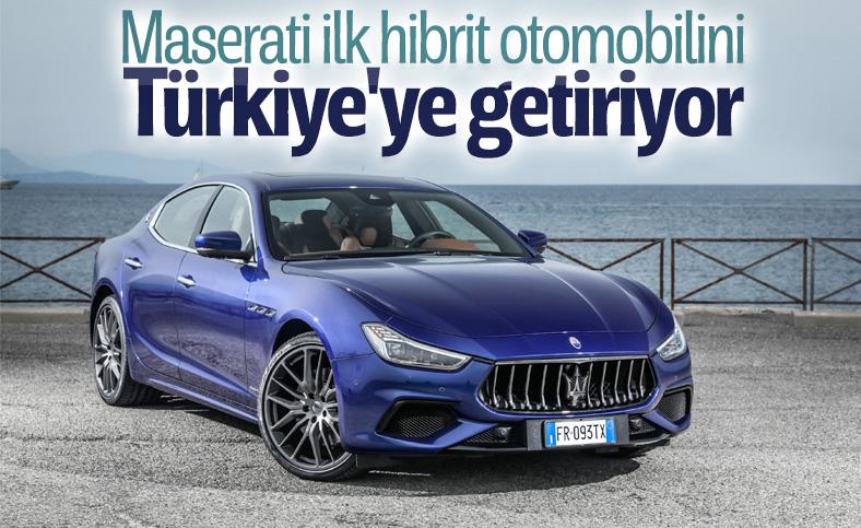Maserati'nin ilk hibrit aracı Ghibli tanıtıldı
