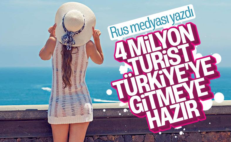 Rus basınından, Türkiye'ye gidecek turist sayısı tahmini