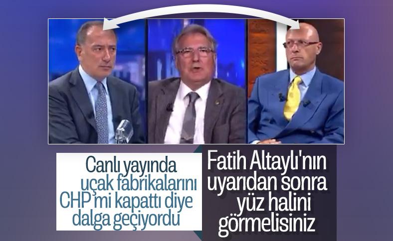Fatih Altaylı dalga geçmeye çalışırken rezil oldu