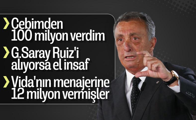 Ahmet Nur Çebi, Beşiktaş gündemini değerlendirdi