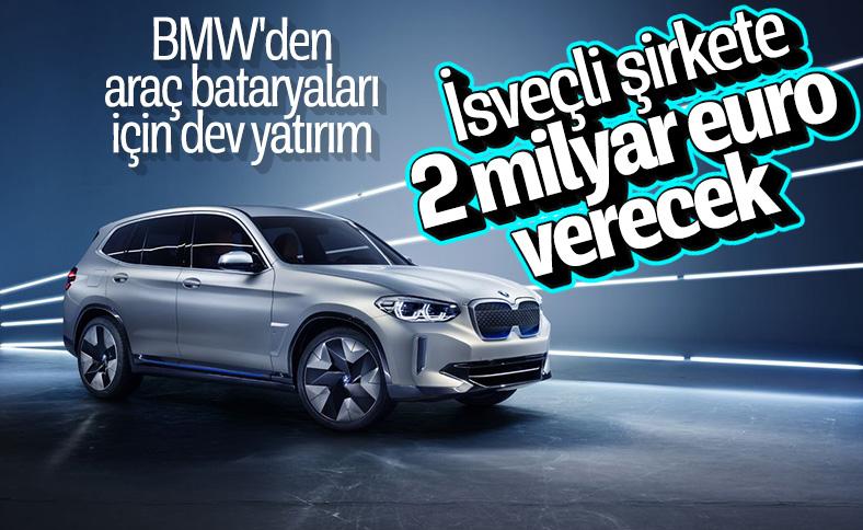 BMW, araç bataryaları için İsveçli şirketle anlaştı