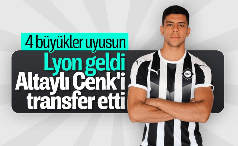 Cenk Özkaçar, Lyon'a transfer oldu