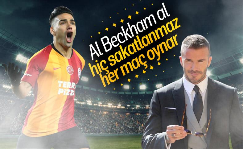 Beckham, takımına Falcao'yu istiyor