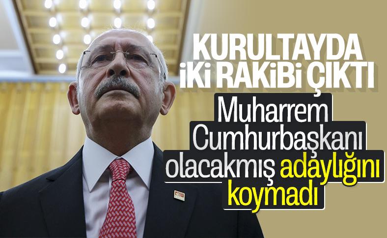 Kurultayda Kılıçdaroğlu'nun iki rakibi var