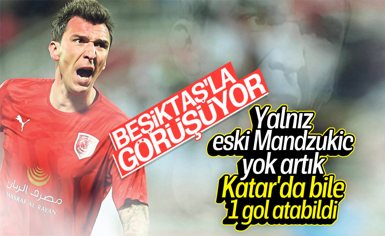 Beşiktaş'tan Mandzukic atağı