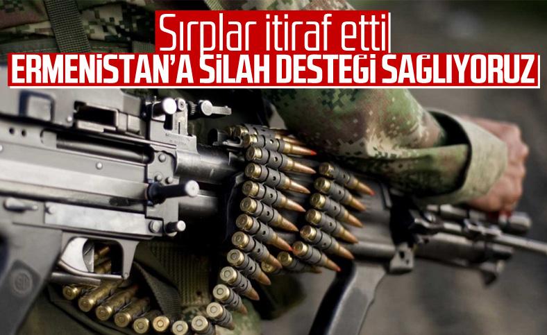 Sırbistan Ermenistan'a silah verdiğini itiraf etti