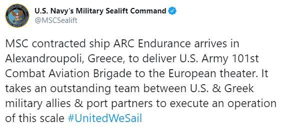 ABD gemisinde Bizans bayrağı çekildi #1