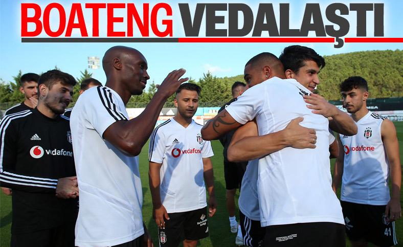 Boateng, Beşiktaş'tan ayrıldı