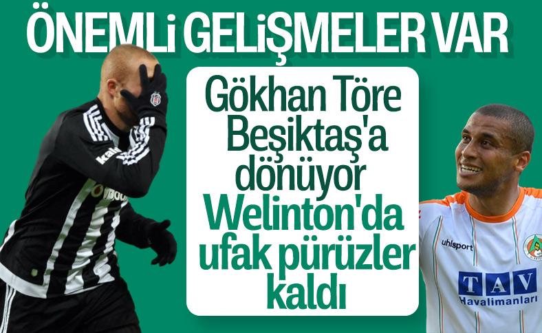 Beşiktaş, Gökhan Töre'yle anlaştı
