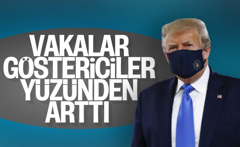 Donald Trump vakaların artışında protestocuları suçladı