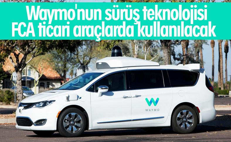 FCA'nın ticari araçlarına da otonom sürüş desteği geliyor
