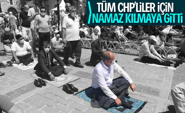 Muharrem İnce, Ayasofya Camii'nde