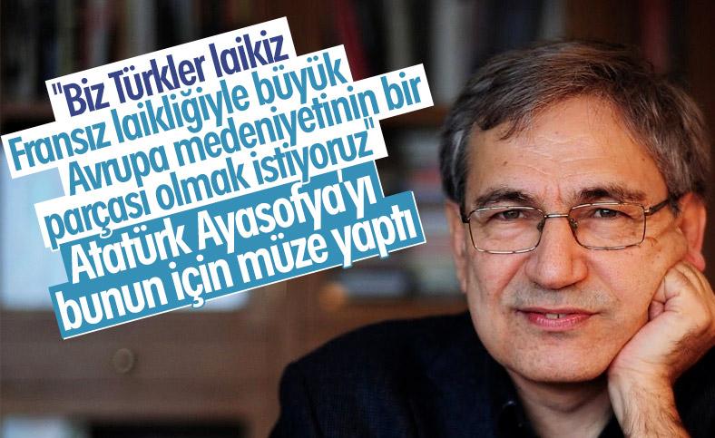 Orhan Pamuk'tan Ayasofya değerlendirmesi