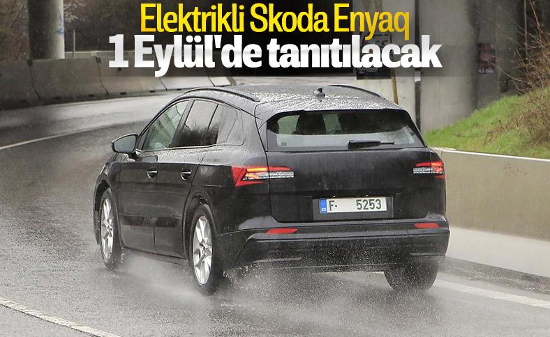 Skoda'nın elektrikli SUV modeli eylülde geliyor