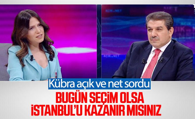 Tevfik Göksu: Seçim olsa İstanbul'u kazanırız