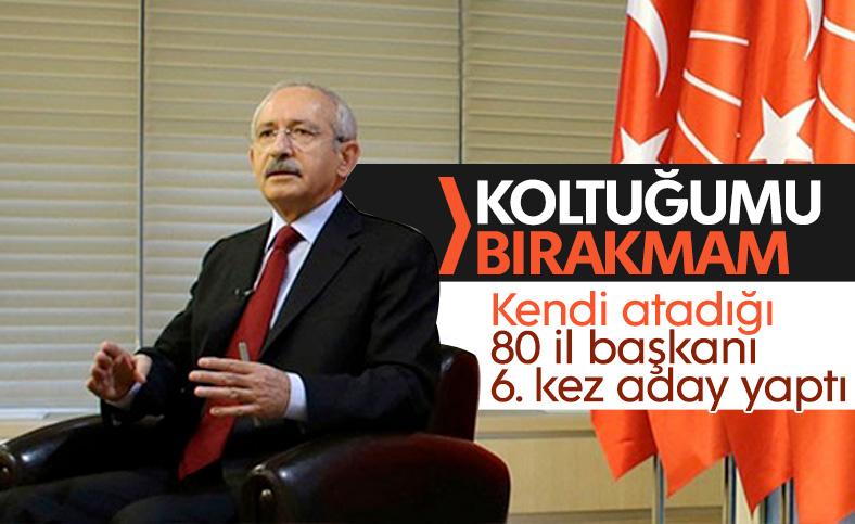 Kemal Kılıçdaroğlu'nun koltuğunu devretmeye niyeti yok