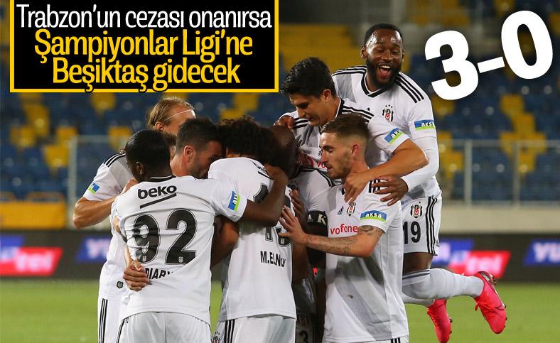 Beşiktaş, ligi üçüncü sırada tamamladı