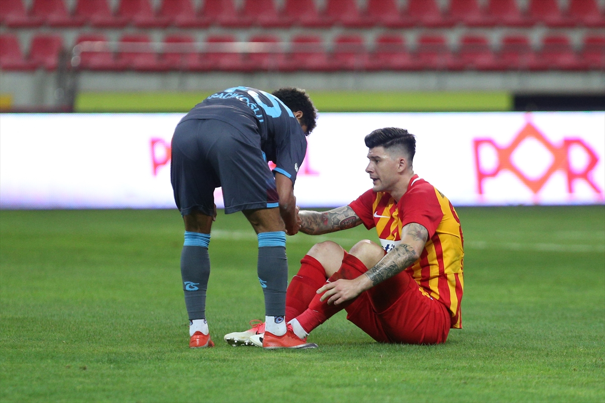 Kayserispor ve Malatyaspor, Süper Lig'e veda etti #1