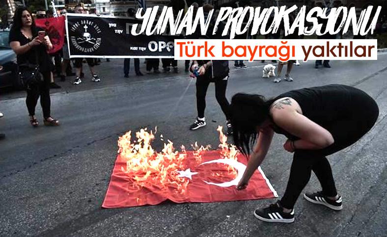 Yunanistan'da Ayasofya'nın açılışını protesto ettiler
