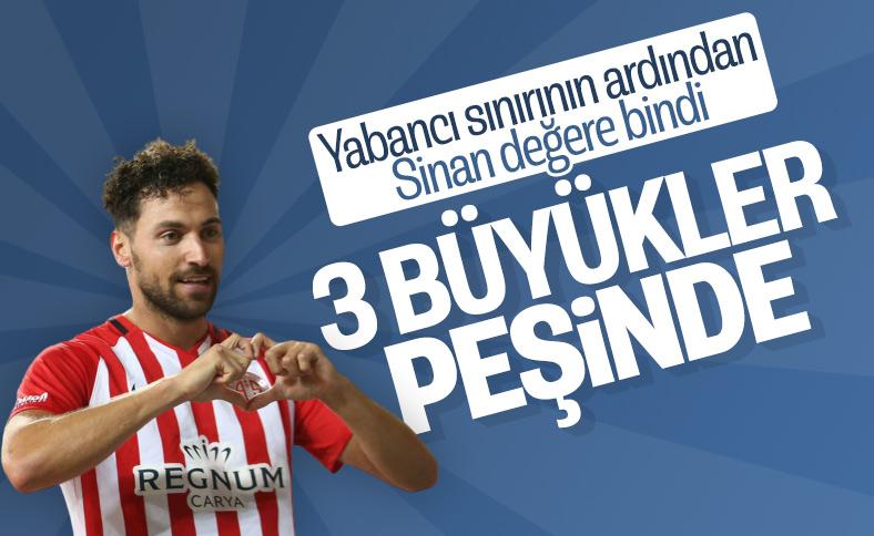 Süper Lig'in büyükleri Sinan Gümüş'ün peşinde