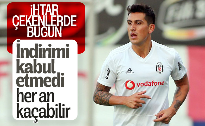 Enzo Roco, Beşiktaş'tan ayrılabilir