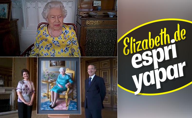 Kraliçe Elizabeth'in yeni yağlı boya tablosu