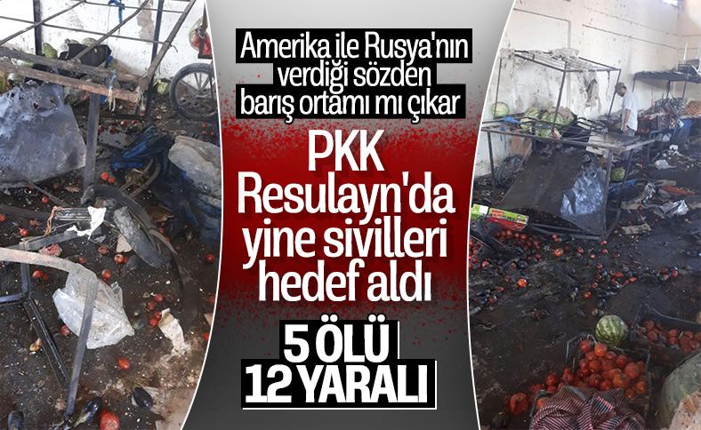 Terör örgütü PKK, Resulayn'da sivilleri hedef aldı: 5 ölü