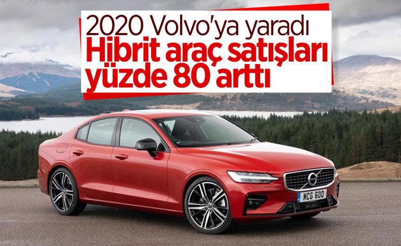 Volvo, hibrit araç satışlarını yüzde 80 artırdı