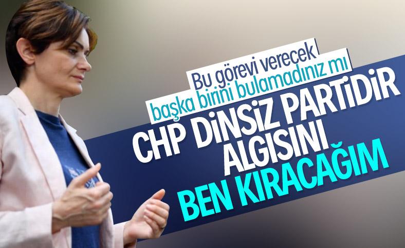 Canan Kaftancıoğlu'na göre CHP yanlış anlatıldı