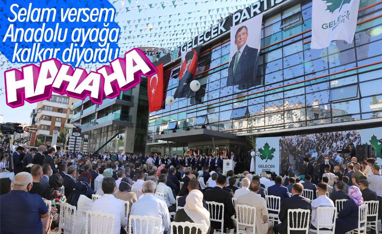 Davutoğlu'nun Ankara'daki açılışı sönük geçti