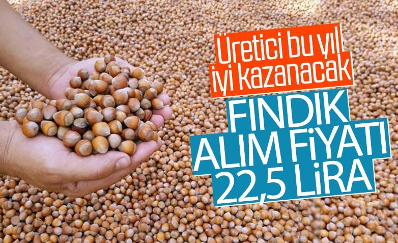Erdoğan: Fındığın fiyatını 22.5 lira olarak belirledik