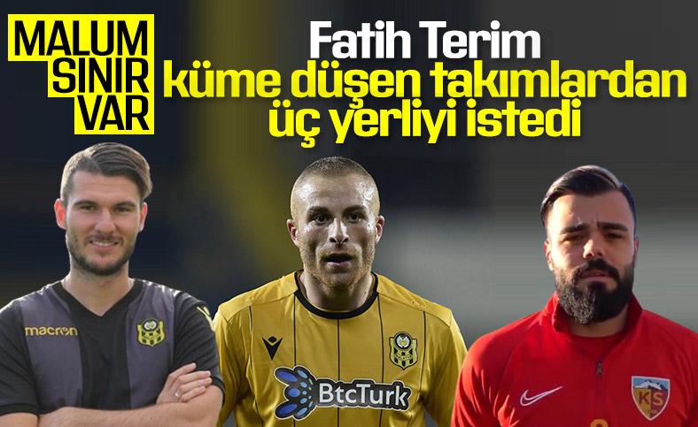 Fatih Terim'in listesindeki 3 Türk futbolcu
