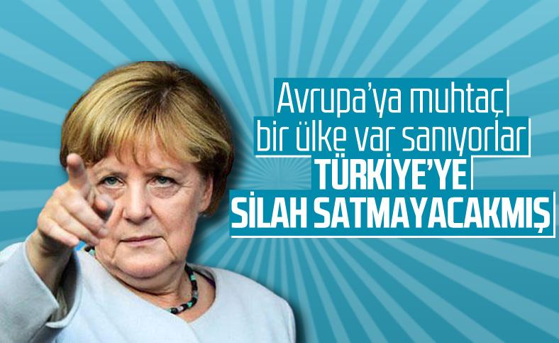 Maas: Türkiye'ye silah satmıyoruz