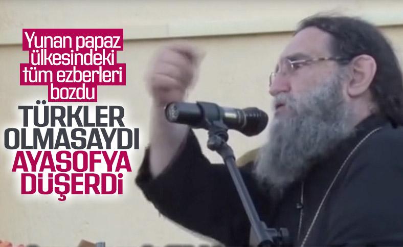 Yunan rahipten ders niteliğinde Türkiye sözleri