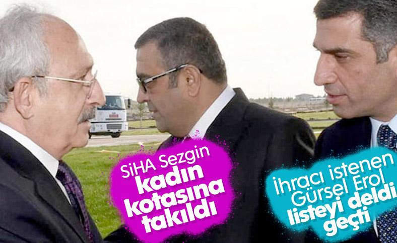 Kılıçdaroğlu'nun listesinde olmayan Gürsel Erol PM'de