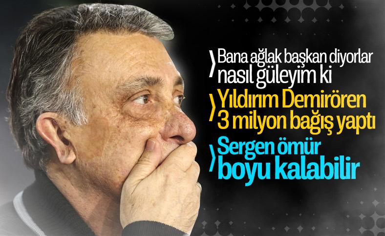 Ahmet Nur Çebi: Demirören, 3 milyon lira bağış yaptı