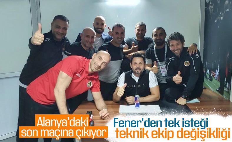 Erol Bulut, Fenerbahçe'ye ekibiyle gelecek