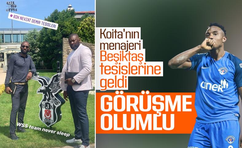 Beşiktaş'ta hedef Koita