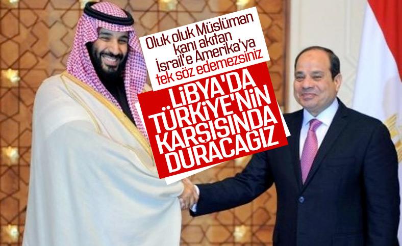Suudi Arabistan'dan Mısır'a Libya desteği