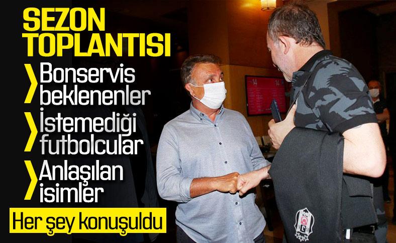 Beşiktaş'ta üç futbolcu satışa çıkarıldı