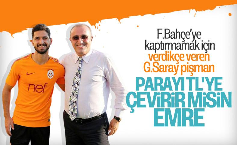 Galatasaray, Emre Akbaba'dan indirim bekliyor
