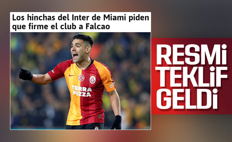 Inter Miami, Falcao'yu transfer etmek istiyor